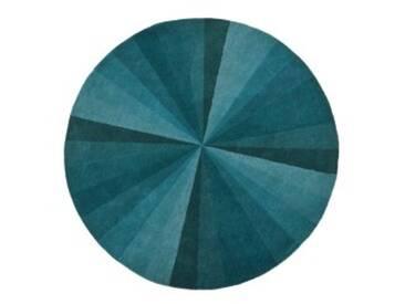 Haldor Teppich (Ø 200 cm), Blau
