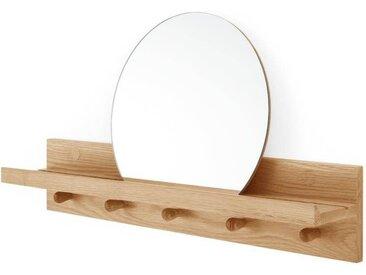 Penn Wandregal und Spiegel, Eiche
