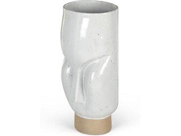 Tonga Vase, Weiss