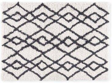 Fes grosse Badematte (70 x 100 cm) aus 100 % Baumwolle , Mist Grau