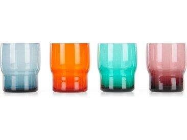 Avon 4 x Wasserglaeser, Mehrfarbig