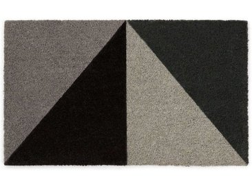 Prism Fussmatte (45 x 75 cm), Grautoene