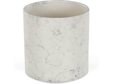 MADE Essentials Annaka mittelgrosse Vase, Ankergrau