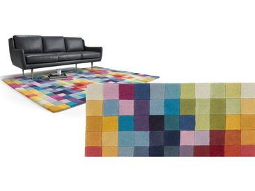 Pixel Teppich (170 x 240 cm), Mehrfarbig