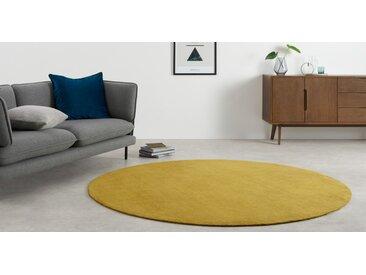 Jago runder Teppich (200 cm), Antikgold