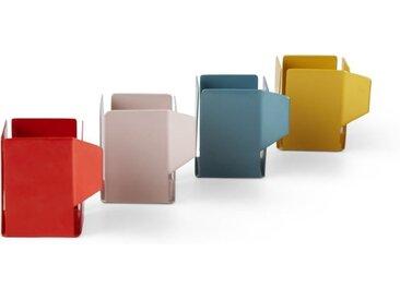 Cafe 4-tlg. Teelichthalter-Set, Mehrfarbig