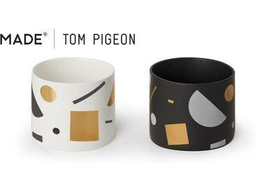 2 x Assembly Tom Pigeon Uebertoepfe, Mehrfarbig