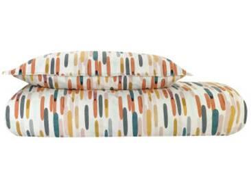 Sahara 100 % Baumwolle Bettwaescheset (135 x 200 cm), Mehrfarbig DE