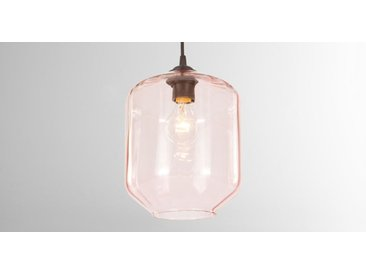 Andes Lampenschirm, Glas in Rosa