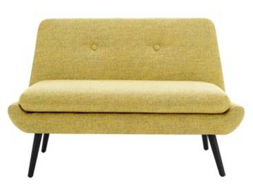 Jonny 2-Sitzer Sofa, Vintage-Gelb