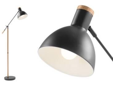 Cohen Stehlampe, Tiefgrau und amerikanische Eiche