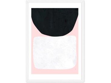 Hush von Tracie Andrews, gerahmter Kunstdruck (65 x 90 cm)
