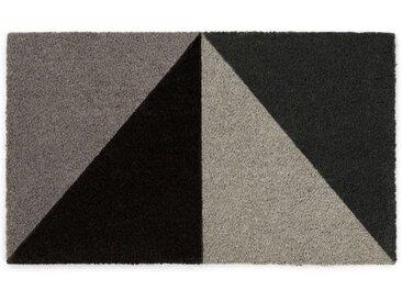 Prism Fussmatte (60 x 90 cm), Grautoene
