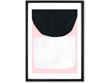 Hush von Tracie Andrews, mit Rahmen (48 x 65 cm)