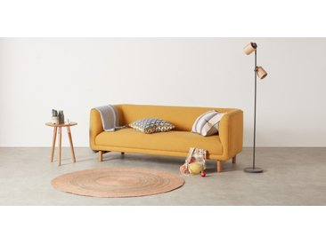 Enzo runder Teppich (150 cm), Rosa