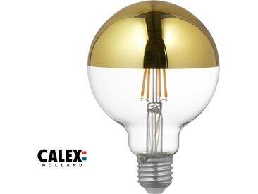 E27 LED-Globe-Gluehbirne 4W Kopfspiegel Filament dimmbar, Messing