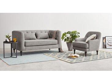 Flynn 2-Sitzer Sofa, Grau