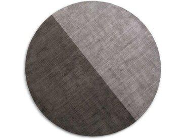 Jago runder Teppich (200 cm), Grautoene