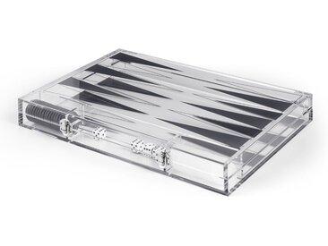 Marna Backgammon, transparentes Acryl