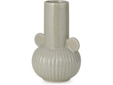 Indi grosse Vase, Hellgrau