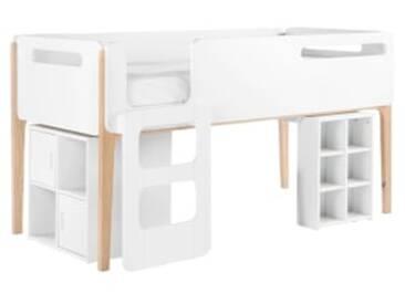 Hochbett Holz Weiß 140x200 : Hochbetten zu top preisen kaufen moebel