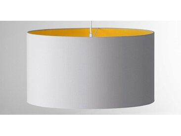 May Lampenschirm (55 cm), Senfgelb und Grau