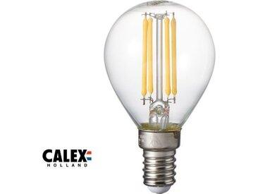 E14 LED-Mini-Globe-Gluehbirne 3.5W dimmbar, Klar