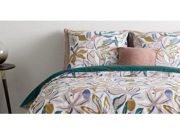 Flavia Bettwaescheset (155 x 220 cm) aus 100 % Baumwolle, Mehrfarbig