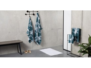 2 x Holt Handtuecher aus 100 % Baumwolle, Aegaeisblau