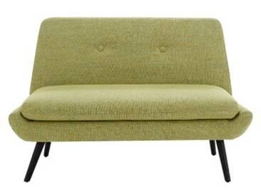 Jonny 2 Sitzer Sofa, Vintage Olivgruen
