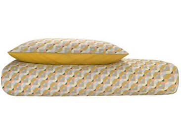 Sybil 100 % Baumwolle Bettwaescheset (155 x 220 cm), Mehrfarbig DE