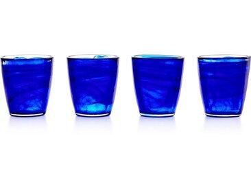 Sonje 4 x Wasserglaeser, Blau