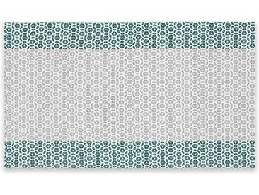 Trio Tischdecke (140 x 240 cm) aus 100 % Baumwolle, Mehrfarbig