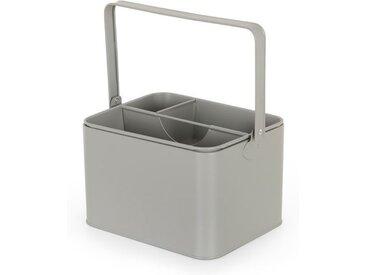 MADE Essentials Borg Aufbewahrungsbox, Grau