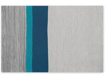 Digby Strickdecke (150 x 200 cm), Graublau