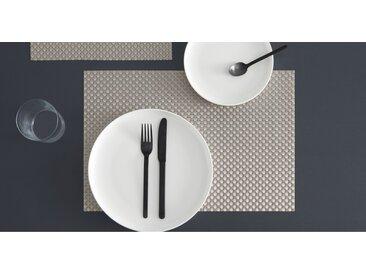 Chadstone 4 x Tischsets, Silber