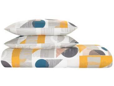 Axle 100 % Baumwolle Bettwaescheset (200 x 200 cm), Mehrfahrbig FR