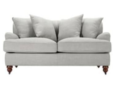 Orson 2-Sitzer Sofa mit Kissen, Parisgrau