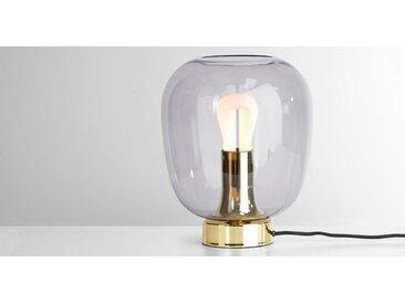 Temple Tischlampe inkl. LED Leuchtmittel, Messing
