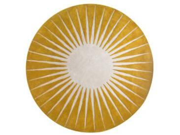 Vaserely runder Teppich (200 cm), Chartreuse