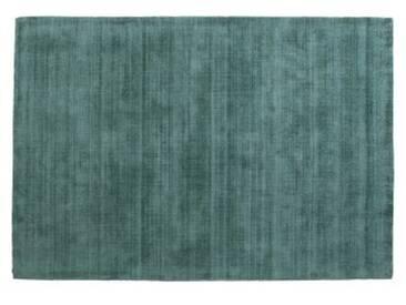 Jago Teppich (120 x 170 cm), Blaugruen