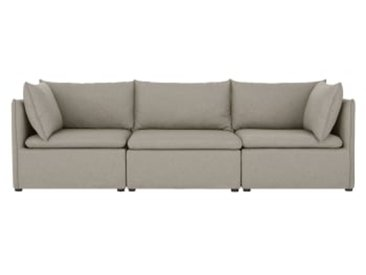 Victor modulares Sofa, Wolkengrau