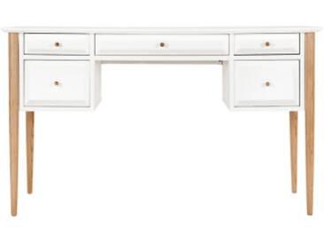 Willow Schreibtisch, Eiche und Weiss