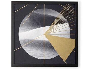 Gold Desert, gerahmter Kunstdruck