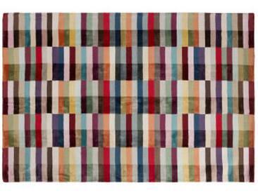 Kari Teppich (160 x 230 cm), Rot und Mehrfarbig