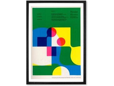 Penrose Annual 60, Gerahmte Kunstdrucke (weitere Groessen erhaeltlich)