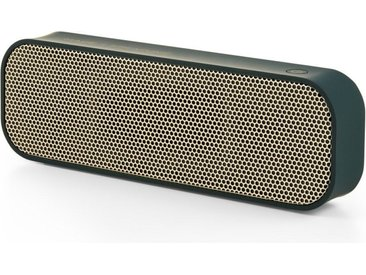 MADE x Kreafunk aGROOVE Bluetooth Lautsprecher, Gruen and Messing