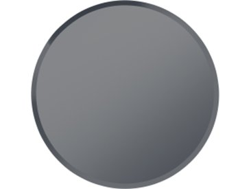 Mysti runder Spiegel (90 cm), Rauchgrau
