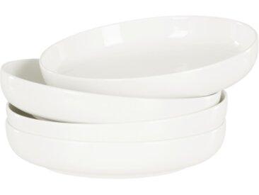 4 x Leah Pastateller, Weiss