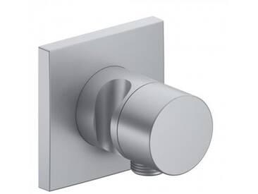 Keuco IXMO Absperrventil mit Schlauchanschluss und Brausehalter aluminium 59541170202